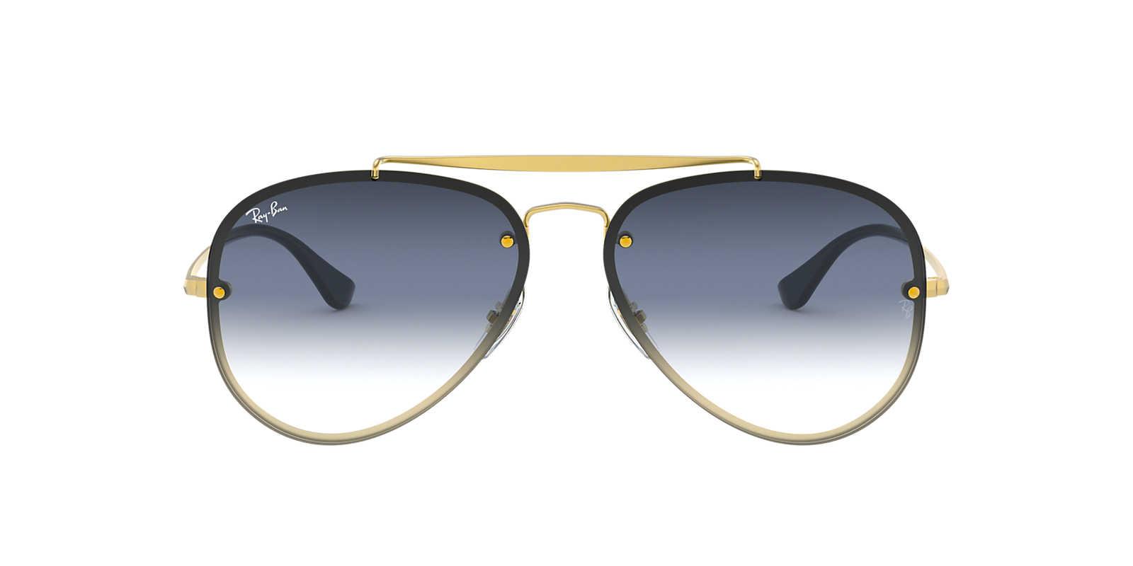d54bb93ebce05 óculos de sol aviador ray ban rb3025 e 3026 cristal dourado. Carregando zoom .