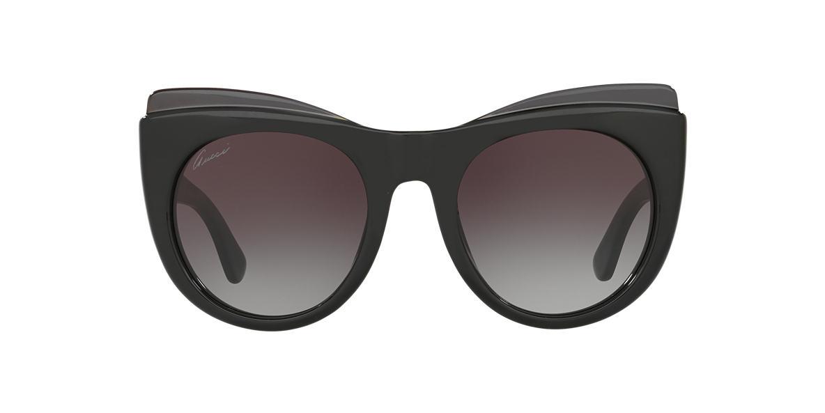 GUCCI Black GG3781/S 52 Grey lenses 52mm
