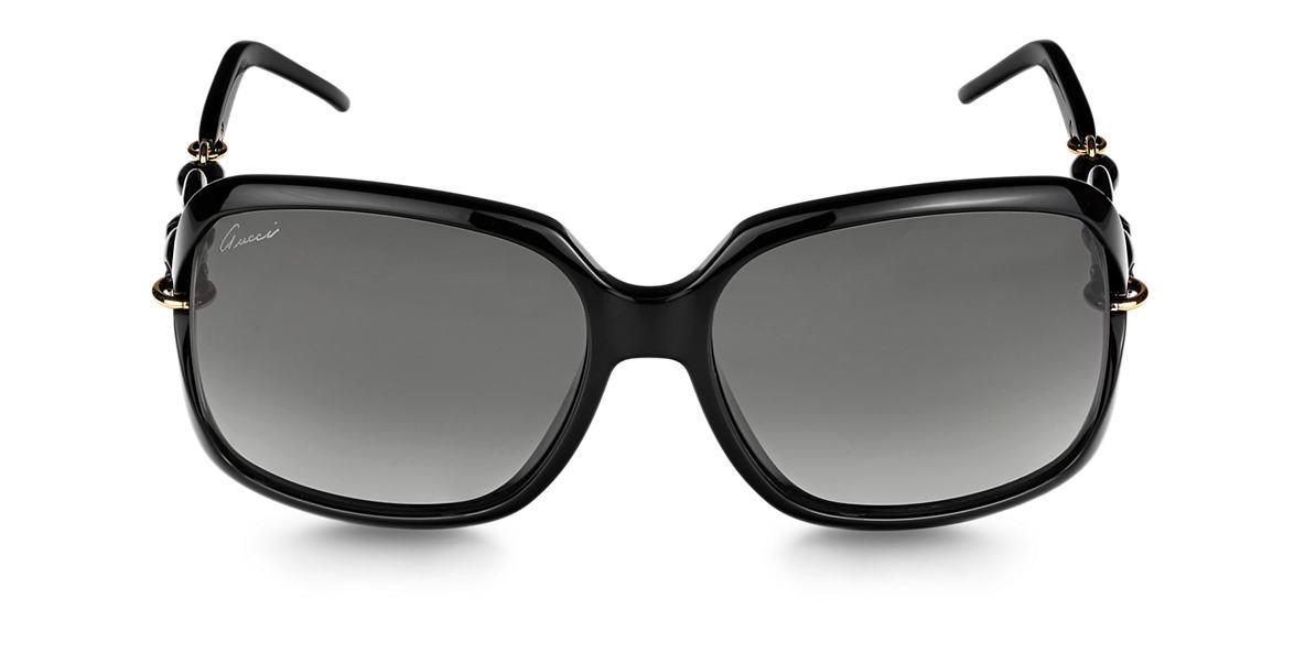 GUCCI Black GG3597/F/S Grey lenses 58mm