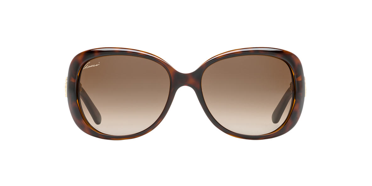 GUCCI Tortoise GG3644/NS 56 Brown lenses 56mm
