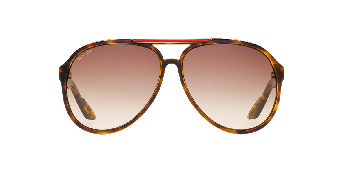 GUCCI Tortoise GC1627 Brown lenses 59mm