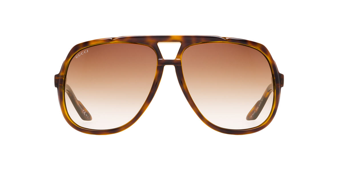 GUCCI Tortoise GC1622S Brown lenses 63mm