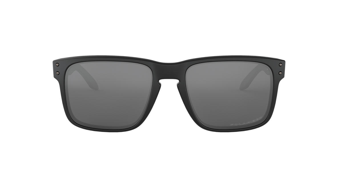 OAKLEY Black OO9102 Grey polarised lenses 55mm