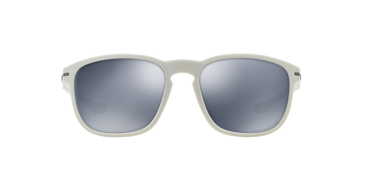 OAKLEY White OO9223 ENDURO SHAUN WHITE Blue polarized lenses 55mm