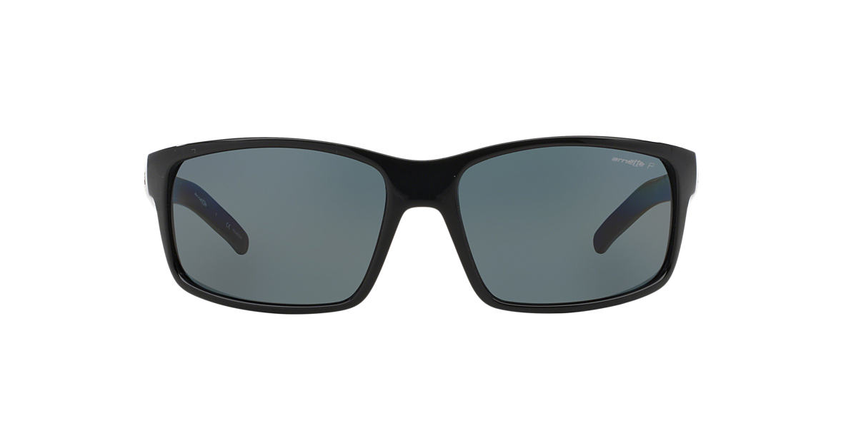 ARNETTE Black AN4202 62 FASTBALL Grey polarised lenses 62mm