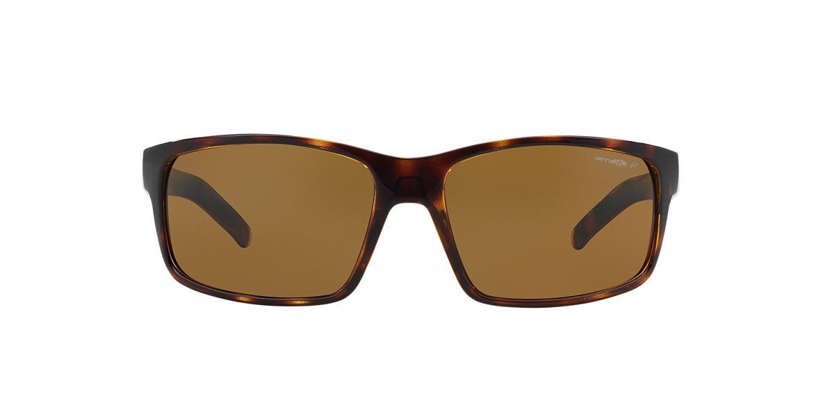 ARNETTE Tortoise AN4202 62 FASTBALL Brown polarized lenses 62mm