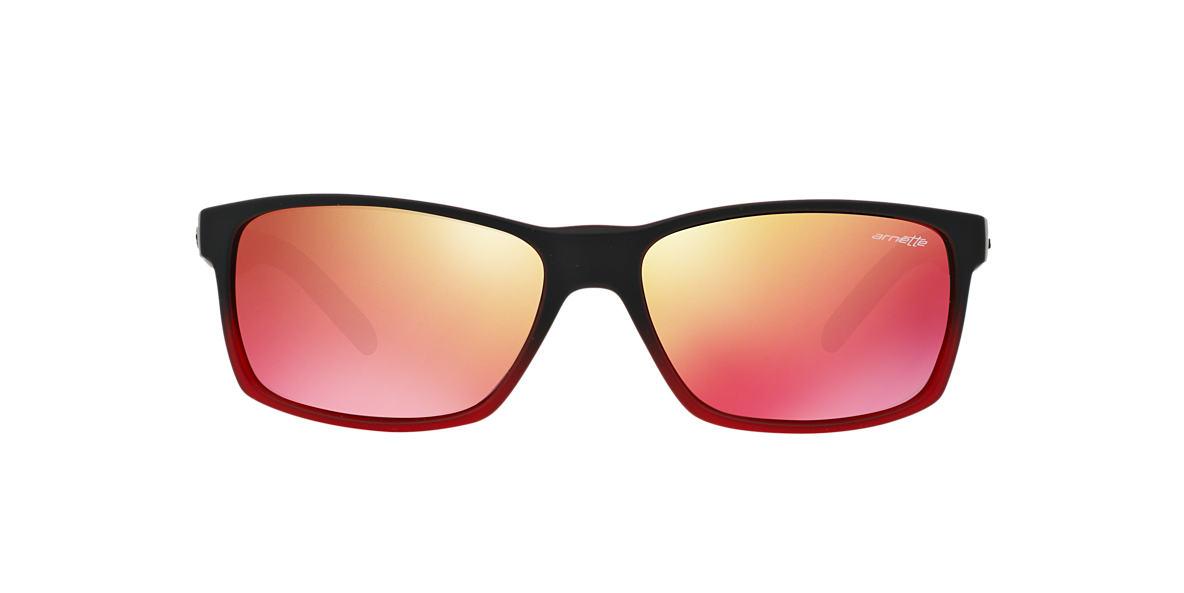 ARNETTE Black AN4185 SLICKSTER Red lenses 58mm