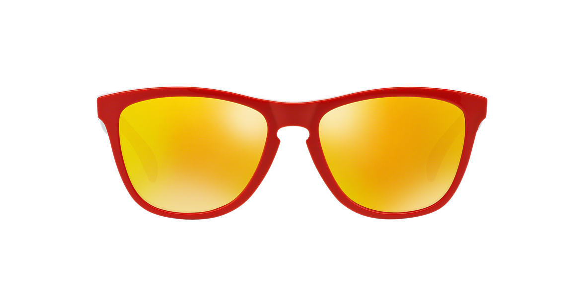 OAKLEY Red OO9013 FROGSKIN Red lenses 55mm