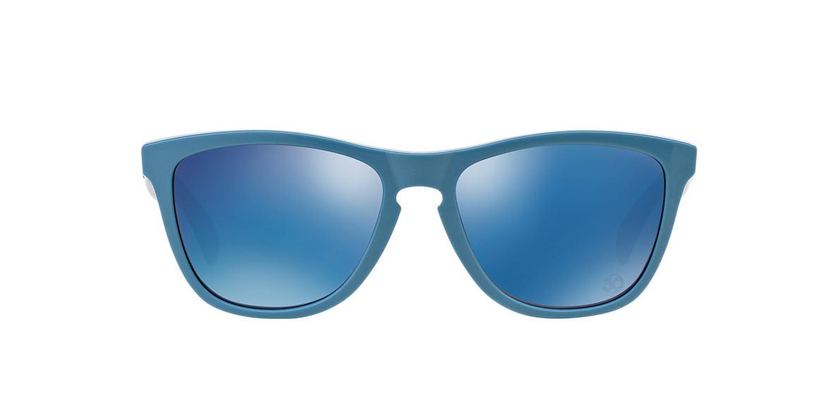 OAKLEY Blue OO9013 FROGSKIN  lenses 55mm