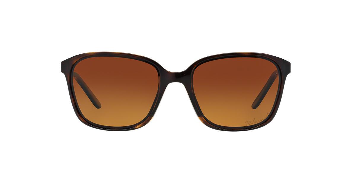 OAKLEY WOMENS Tortoise OO9291 58 GAME CHANGER Brown polarized lenses 58mm