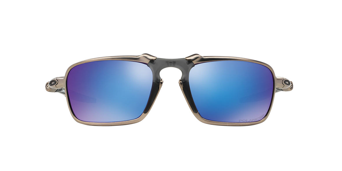 OAKLEY Multicolor OO6020 60 BADMAN Blue polarized lenses 60mm