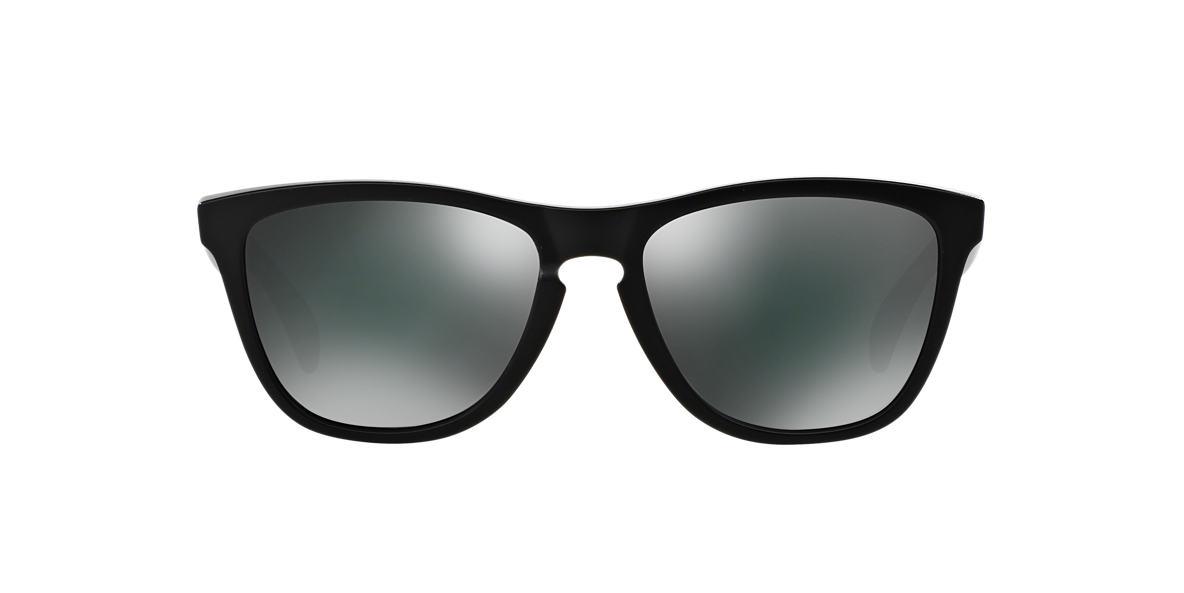 OAKLEY Black Matte OO9013 FROGSKIN Black polarized lenses 55mm