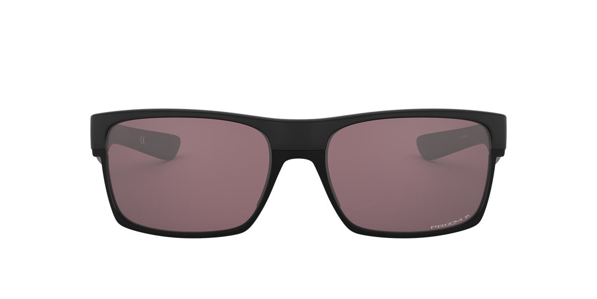 OAKLEY Black TWOFACE Brown polarised lenses 60mm