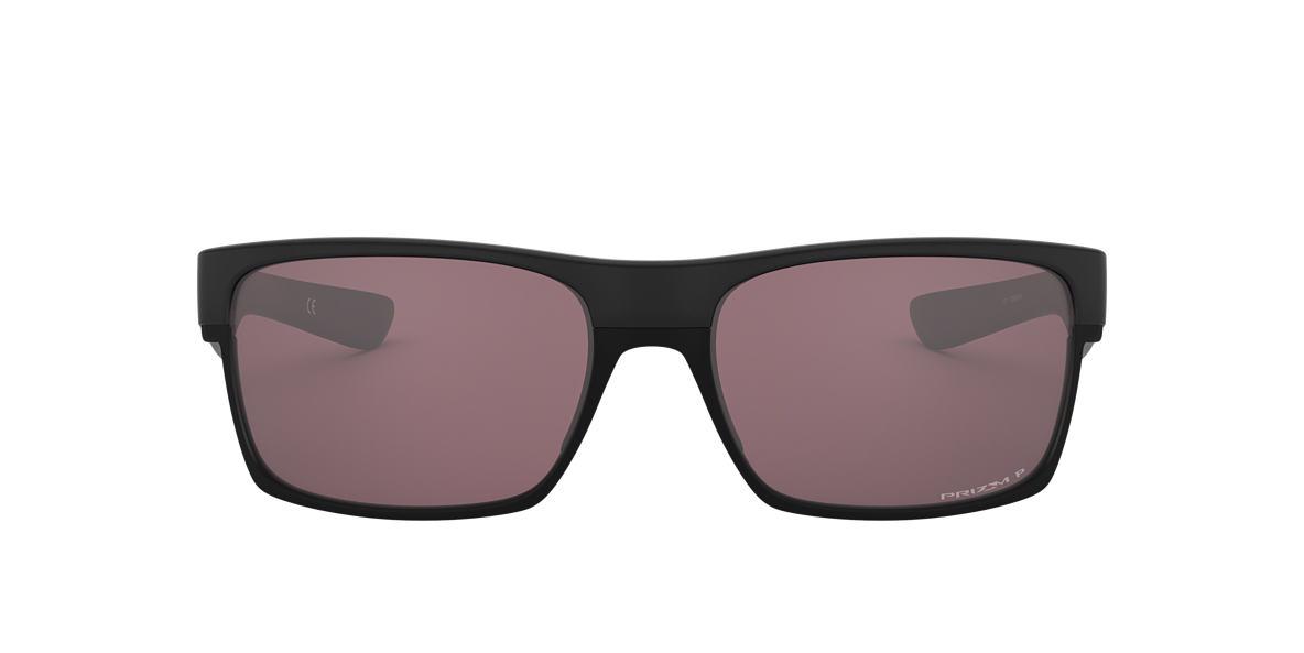 OAKLEY Black Matte OO9189 TWOFACE Grey polarized lenses 60mm