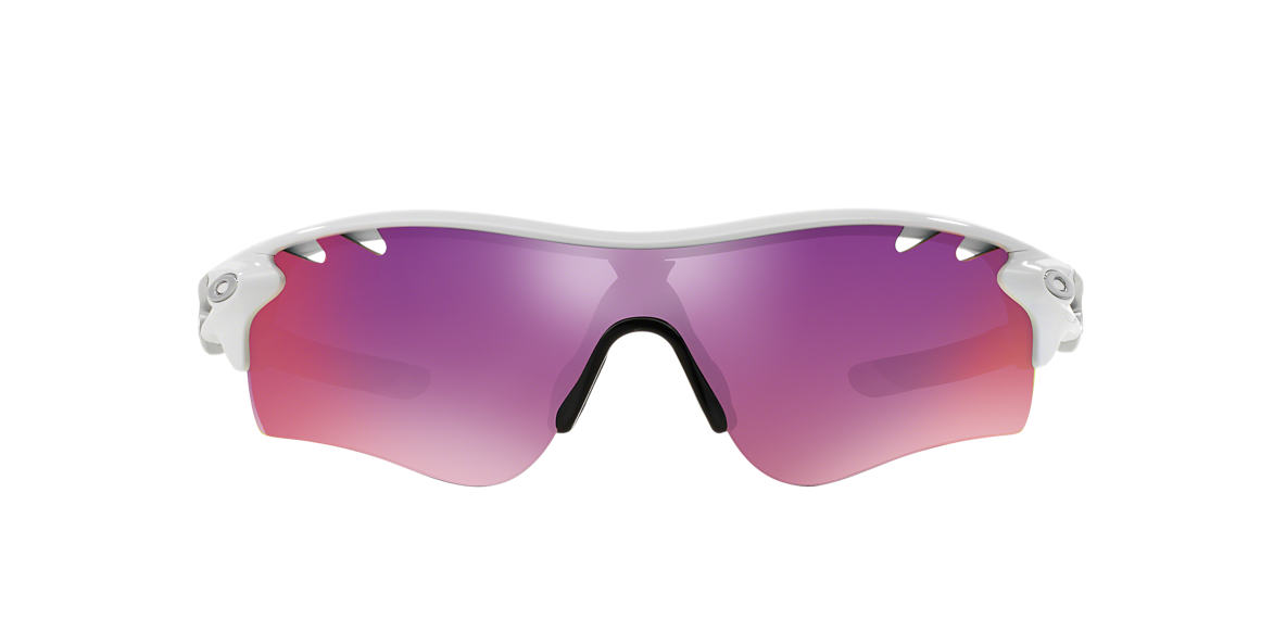 OAKLEY White OO9181 RADARLOCK PATH Grey lenses 38mm