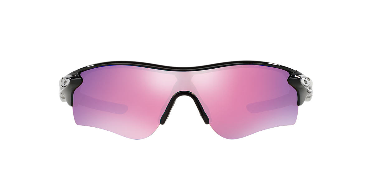OAKLEY Black OO9181 RADARLOCK PATH Pink lenses 38mm