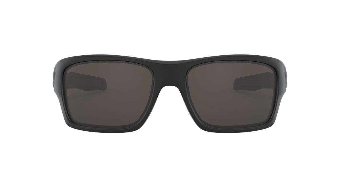 OAKLEY Black Matte OO9263 TURBINE Grey lenses 63mm
