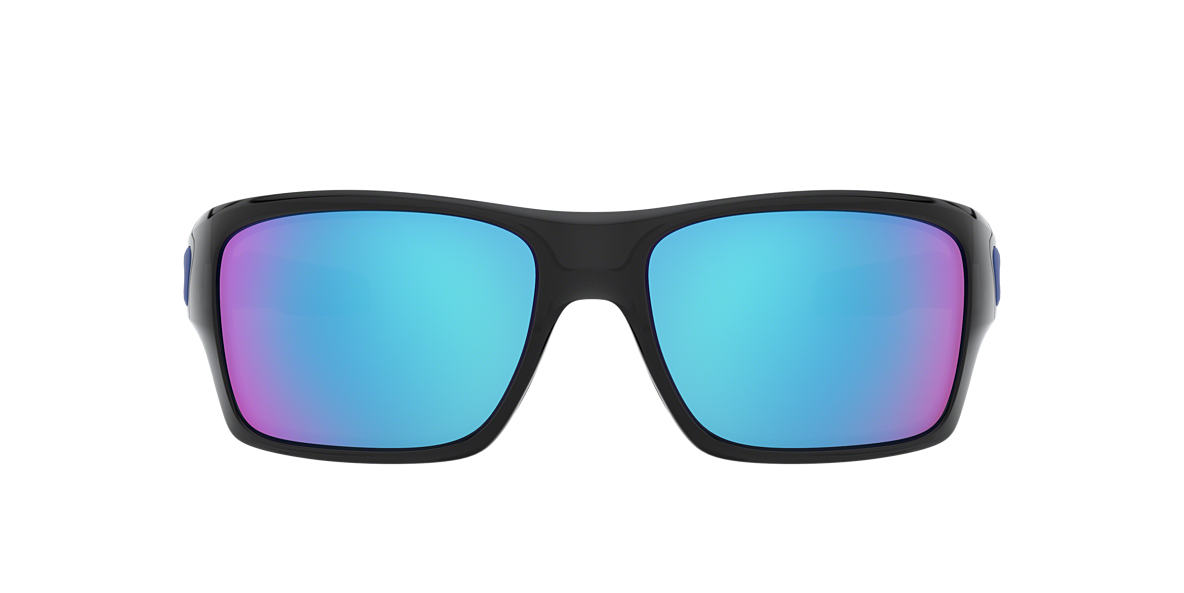 OAKLEY Black OO9263 TURBINE Blue lenses 63mm