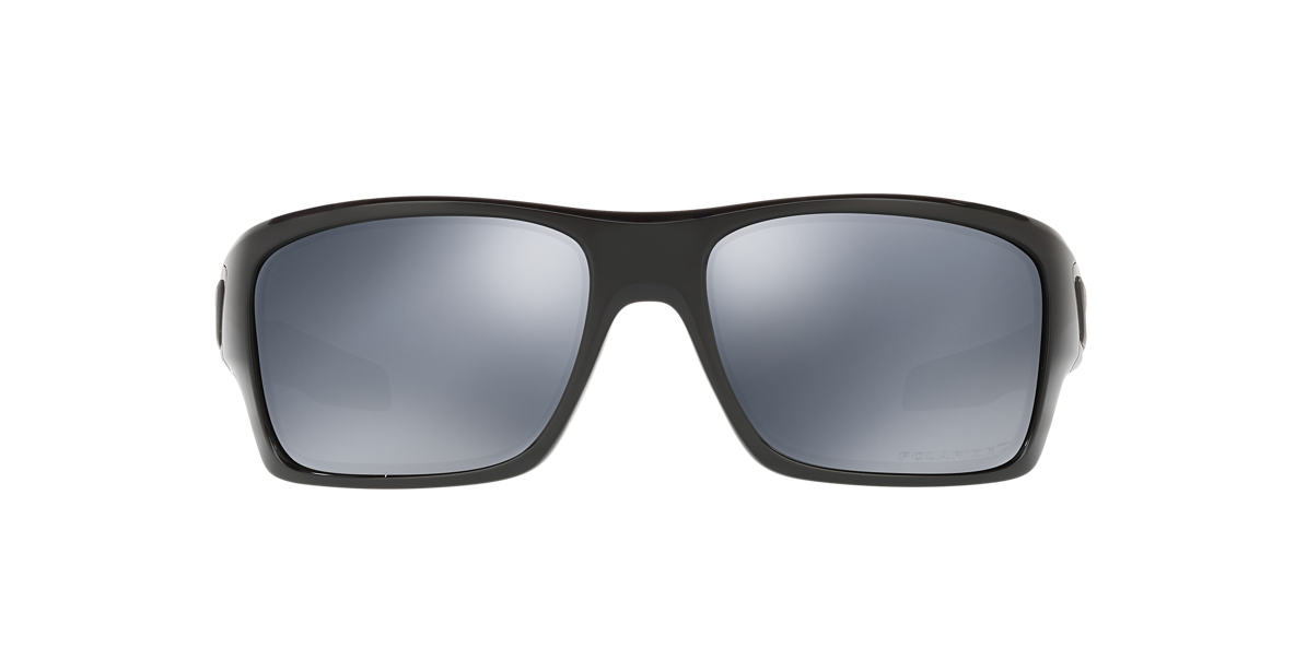 OAKLEY Black OO9263 TURBINE Black polarised lenses 65mm