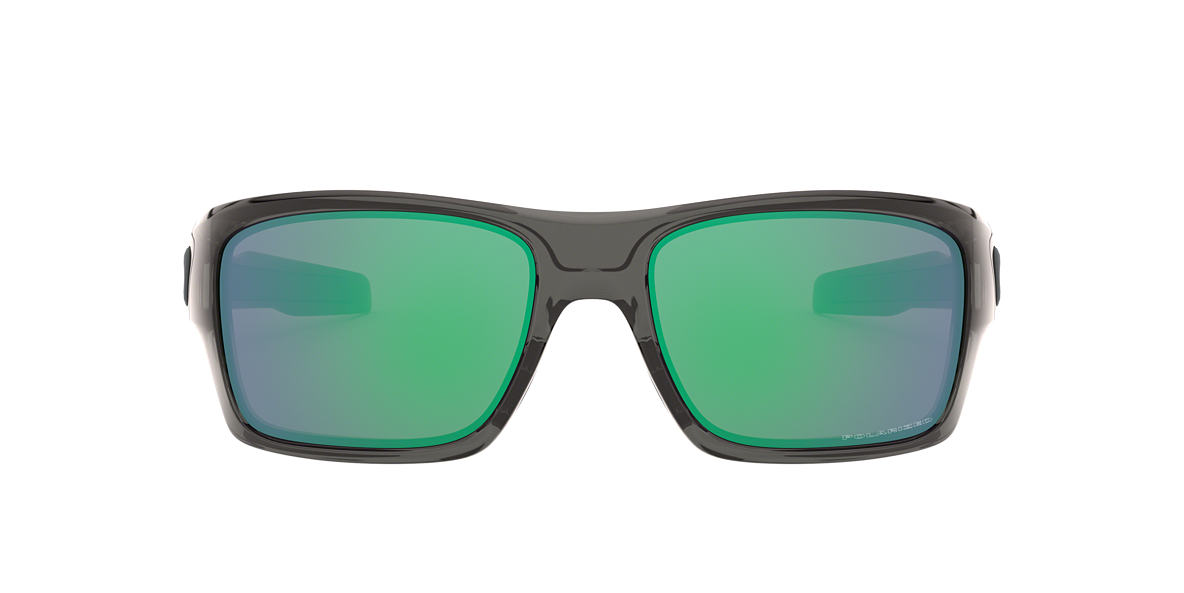 OAKLEY Grey OO9263 TURBINE Green polarized lenses 65mm