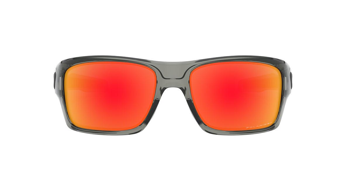 OAKLEY Grey OO9263 TURBINE Red polarized lenses 65mm