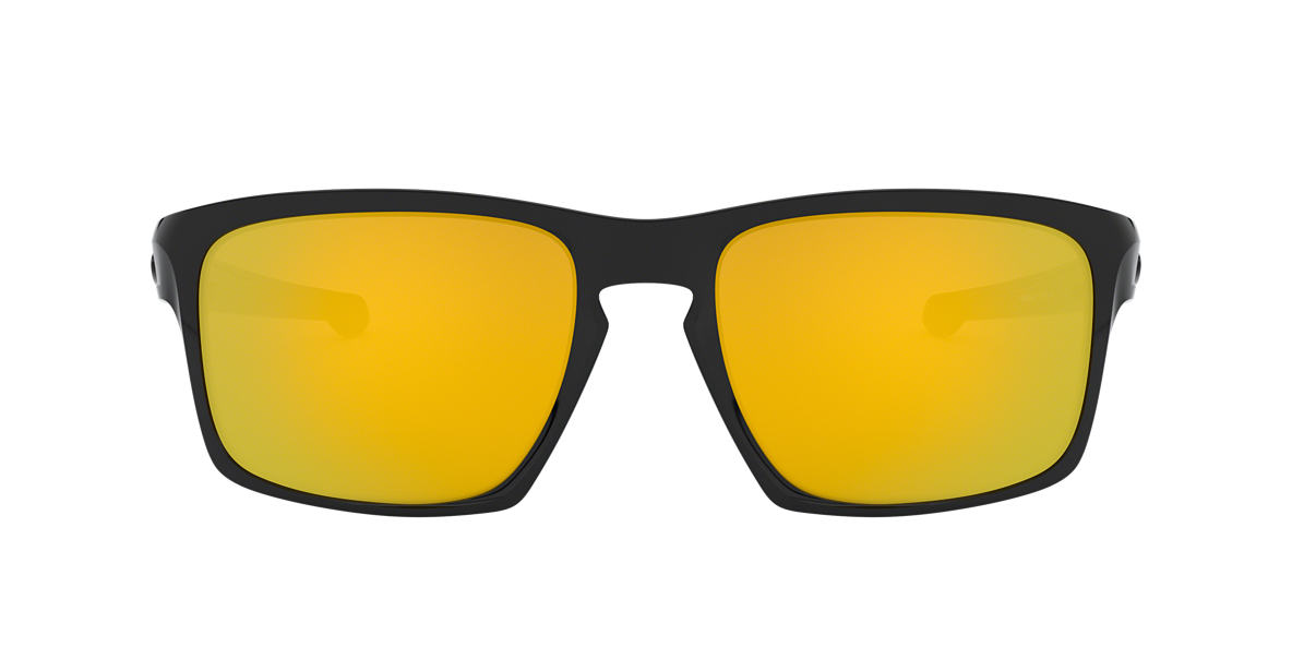 OAKLEY Black SLIVER Yellow lenses 57mm