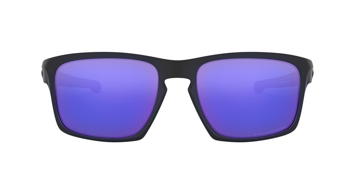 OAKLEY Black SLIVER Purple polarised lenses 57mm