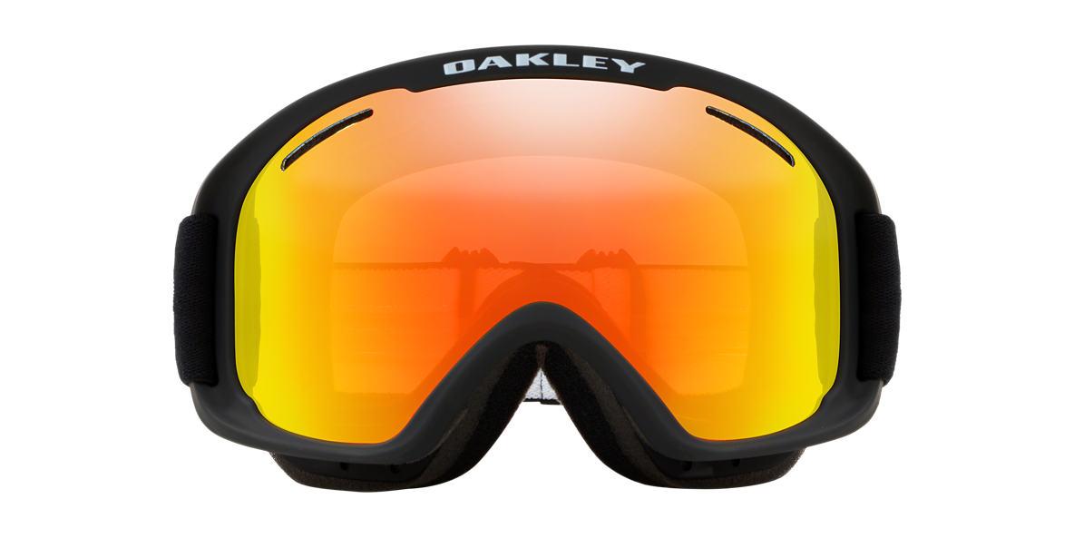 OAKLEY Black Matte OO7066 00 02 MEDIUM Orange lenses mm