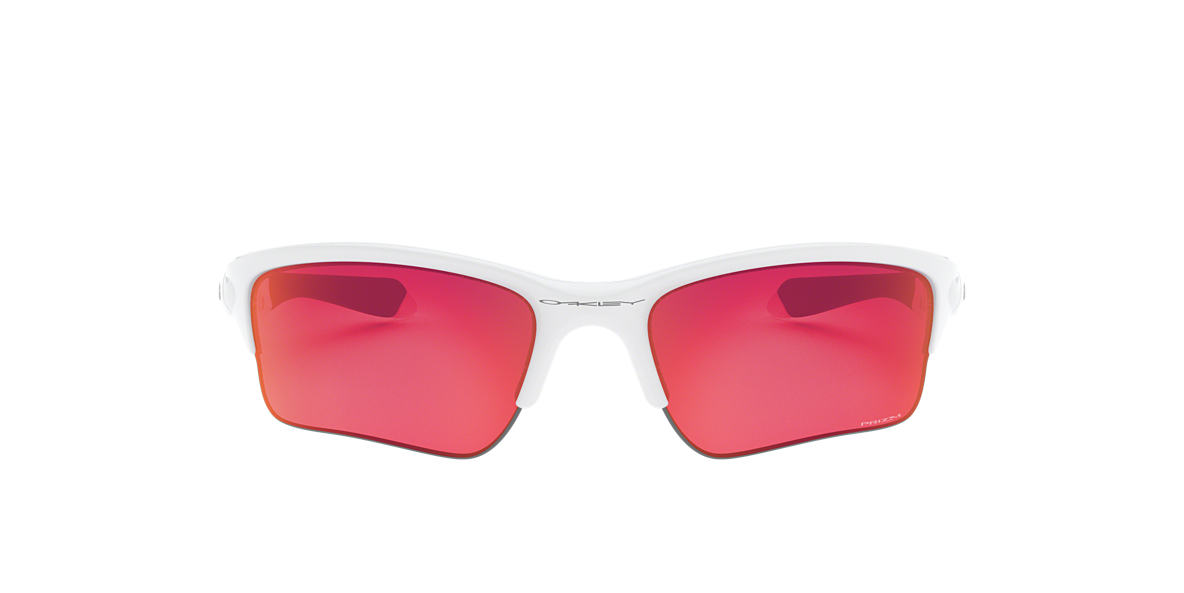 OAKLEY White OO9200 QUARTER JACKET Red lenses 61mm