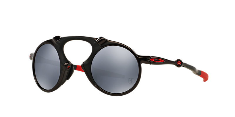 Oakley Oo6019 41 Madman Black Round Sunglasses