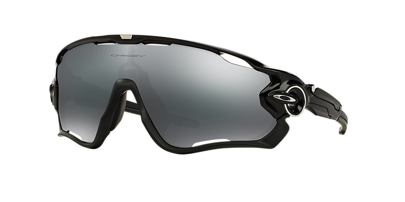 Oakley Oo9290 31 Jawbreaker Black Shiny Rectangle Sunglasses