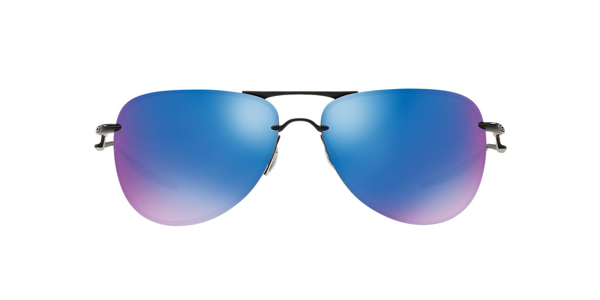 OAKLEY Black OO4086 61 TAILPIN Blue polarised lenses 61mm