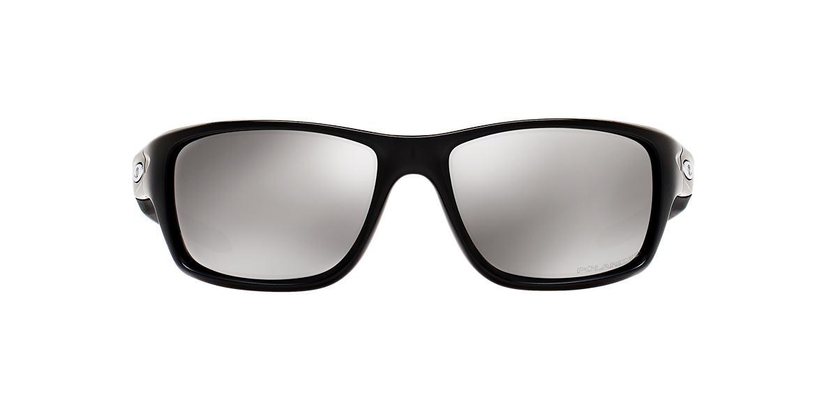 OAKLEY Black Matte OO9225 CANTEEN Silver polarized lenses 60mm
