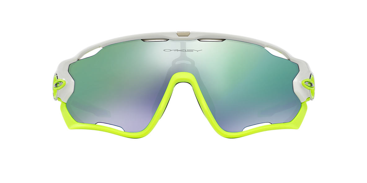 OAKLEY White OO9290 31 JAWBREAKER Green lenses 31mm