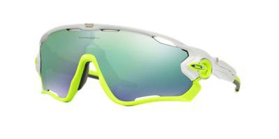 vjlos Oakley OO9290 JAWBREAKER 31 Green & White Sunglasses | Sunglass
