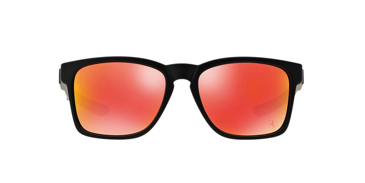 OAKLEY Black Matte OO9272 55 CATALYST Red lenses 56mm