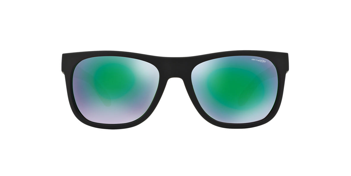 ARNETTE Black Matte AN4206 57 Green lenses 57mm