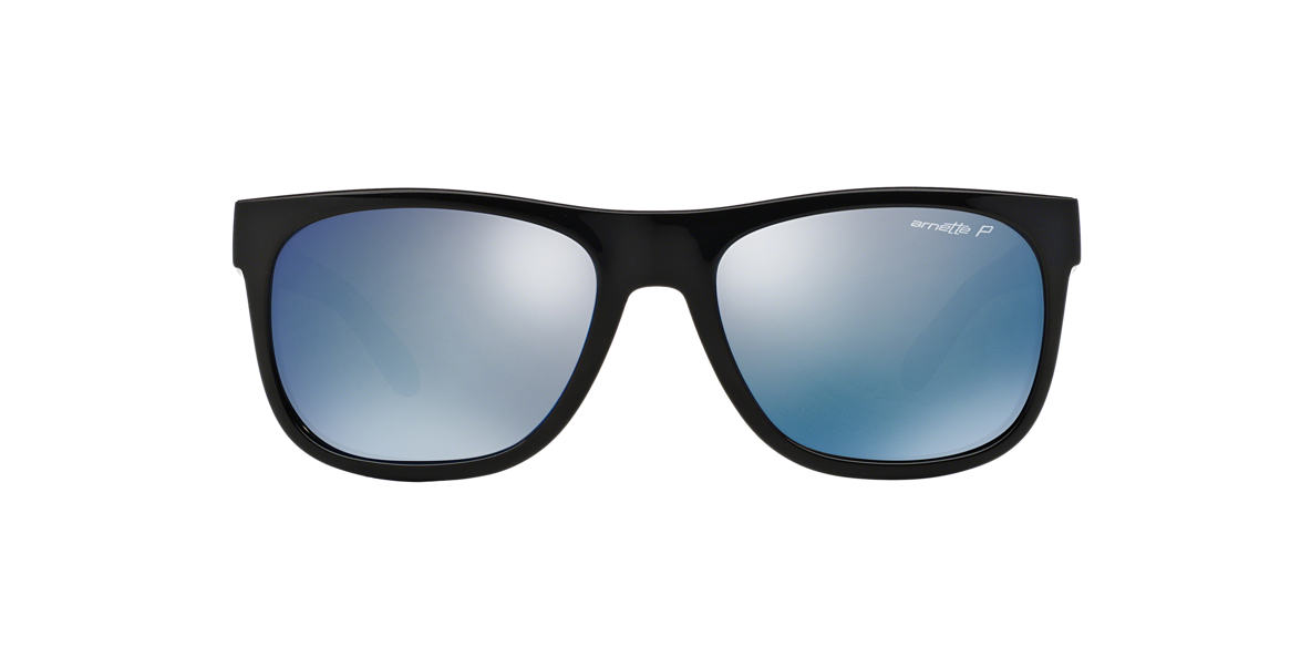 ARNETTE Black AN4206 Grey polarised lenses 57mm