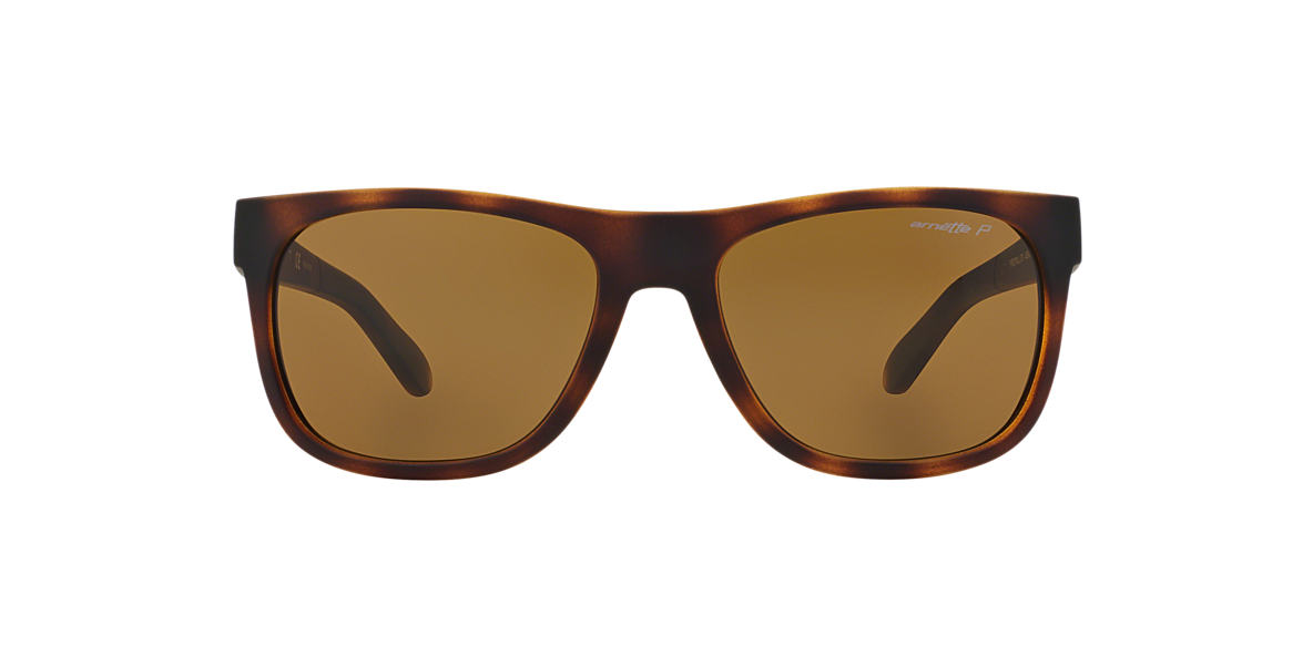 ARNETTE Tortoise AN4206 Brown polarised lenses 57mm