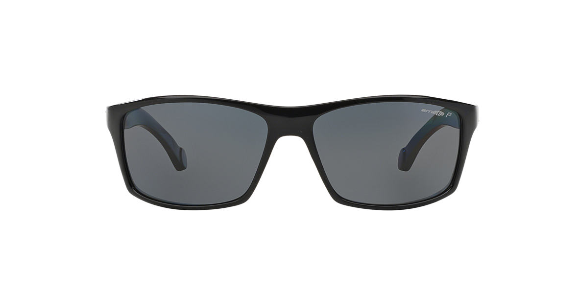 ARNETTE Black AN4207 61 Grey polarized lenses 61mm