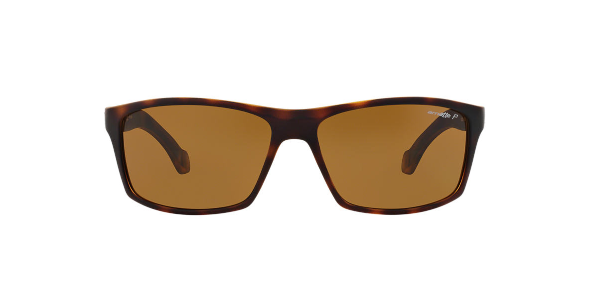 ARNETTE Tortoise Matte AN4207 61 Brown polarized lenses 61mm
