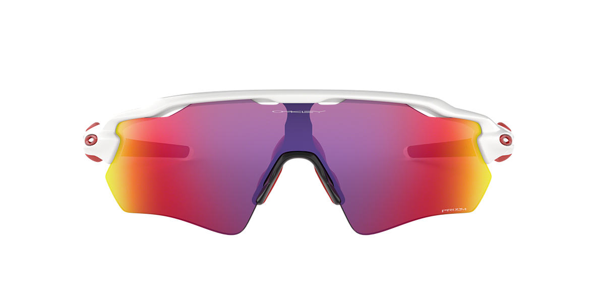 OAKLEY Clear/White OO9208 Red lenses 13mm