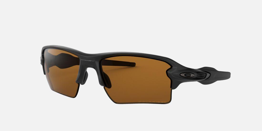 oakley flak brown