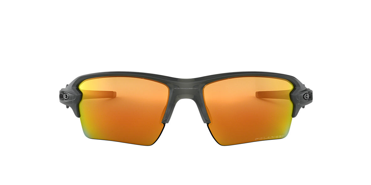OAKLEY Grey OO9188 59 FLAK 2.0 XL Orange polarized lenses 59mm