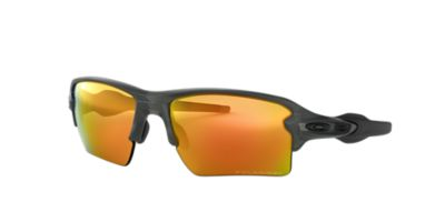 orange oakleys  Oakley OO9188 FLAK 2.0 XL 59 Orange \u0026 Grey Polarized Sunglasses ...