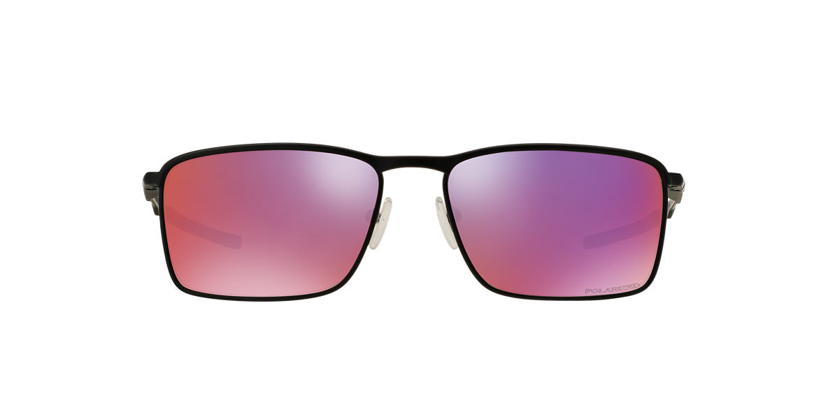 OAKLEY Black Matte OO4106 58 CONDUCTOR 6 Red polarized lenses 58mm