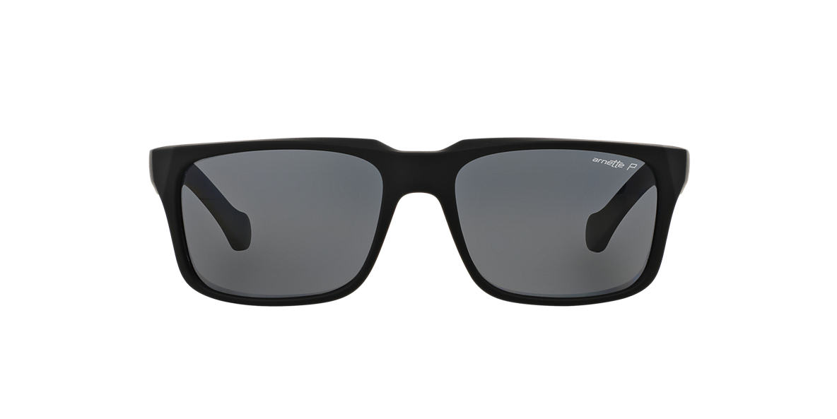 ARNETTE Black AN4211 55 Grey polarized lenses 55mm