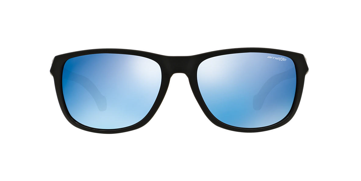 ARNETTE Black Matte AN4214 58 Blue lenses 58mm