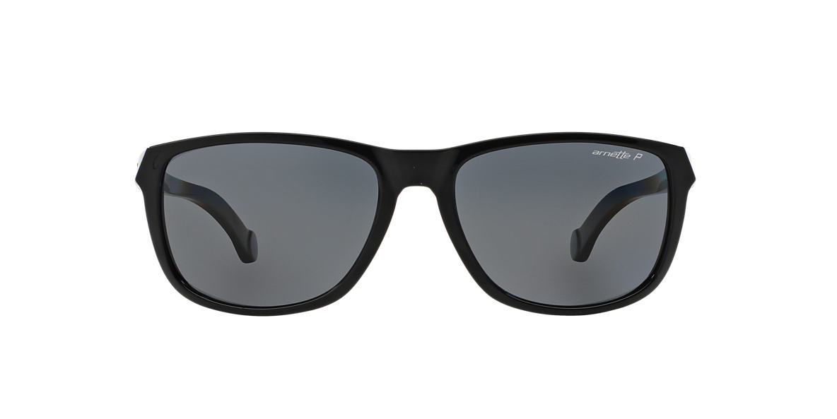 ARNETTE Black AN4214 58 Grey polarized lenses 58mm