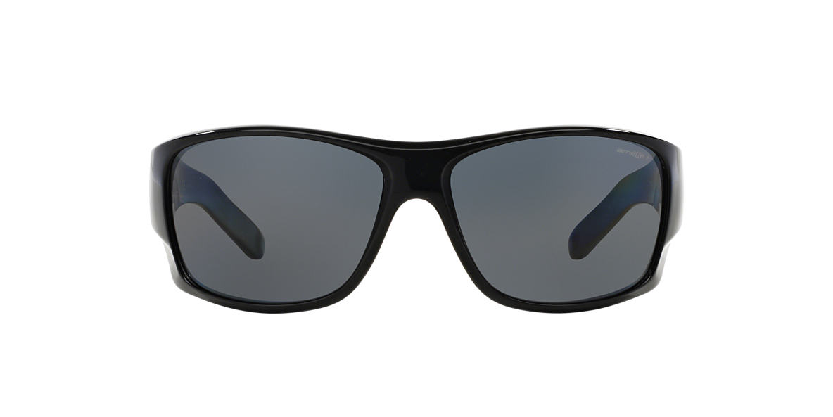 ARNETTE Black AN4215 66 Grey polarized lenses 66mm